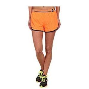 Under Armour》Mesh jersey training shorts orange